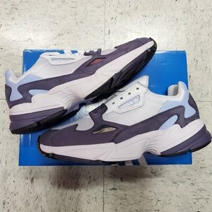 Womens Adidas Falcon Purple EE9311 size 7.5
